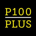 לוגו P100PLUS פי מאה פלוס